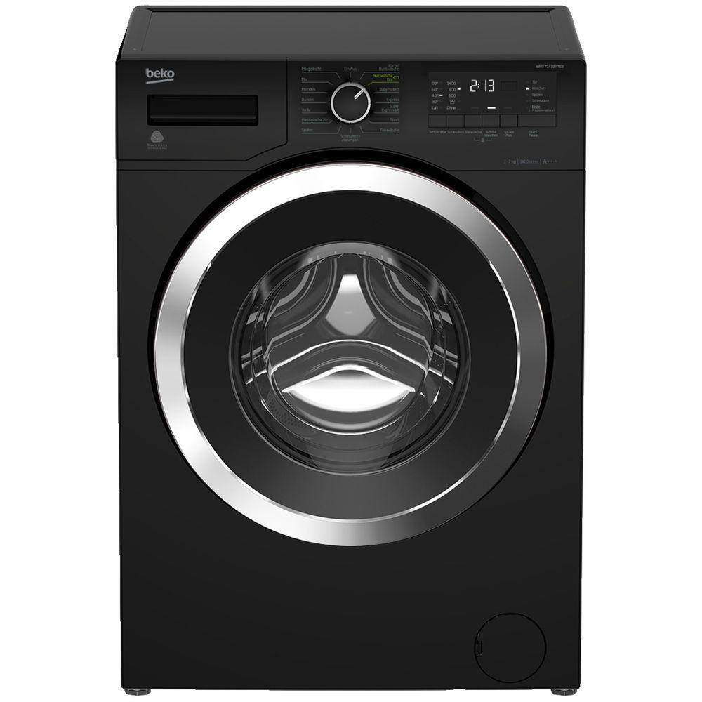 Beko Wmy 71433 Pteb Waschmaschine 7 Kg 1400 U Min A Waschmaschine Waschmaschine Schwarz Waschtrockner