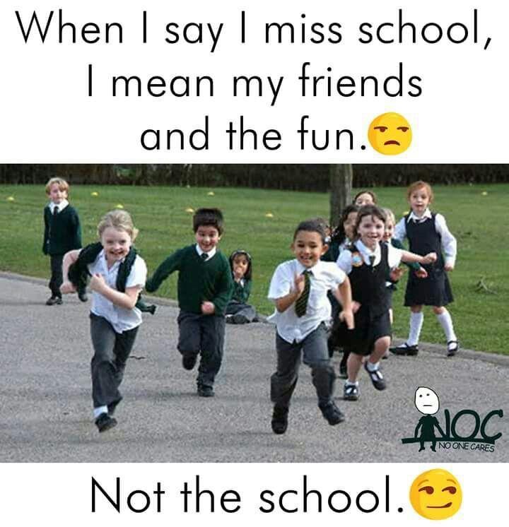 Missing my friends hahahahahahah | School life quotes ...