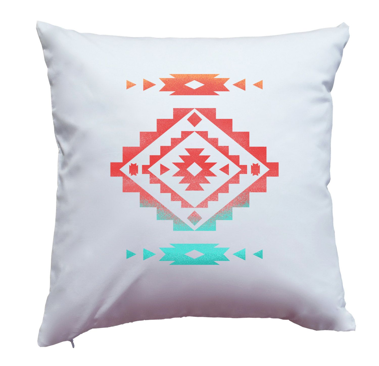 Trendy chic bright colorful cheery native american indian southwest