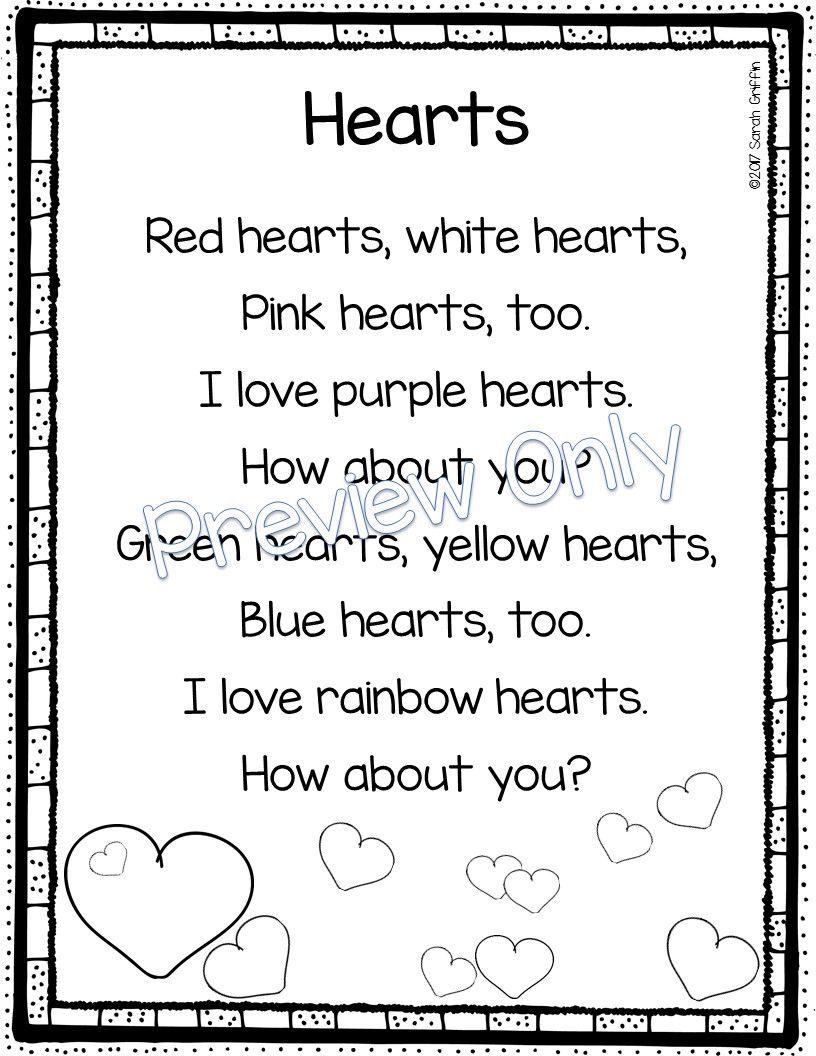 5 Valentine S Day Poems For Kids Valentines Day Songs Valentines Day Poems Valentines Songs For Kids