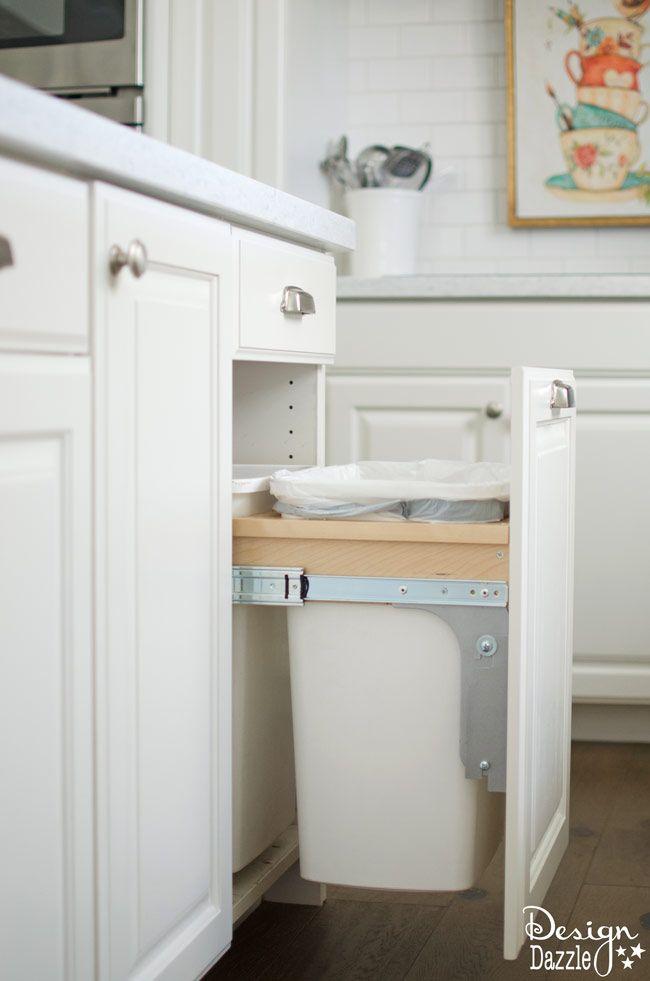Creative Hidden Kitchen Storage Solutions Design Dazzle Hidden