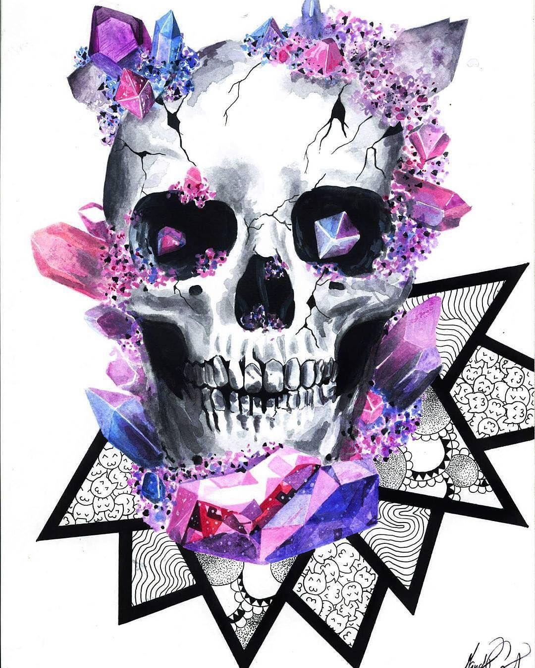 creative skull