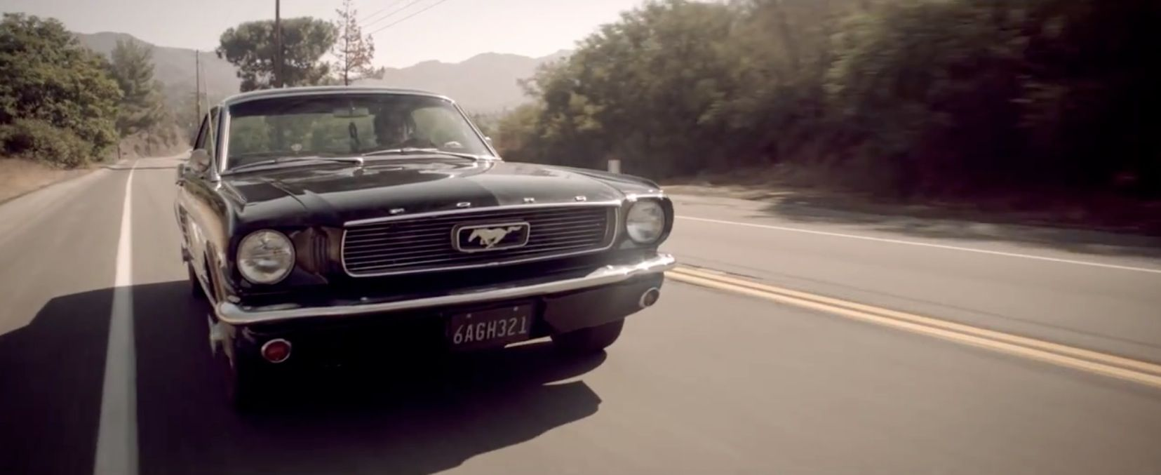 Ford mustang 1966 in the one that got away by katy perry 2011 ford