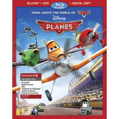 Planes - 2-Disc Combo Pack(Blu-ray/DVD/Digital Copy) - Only at ...