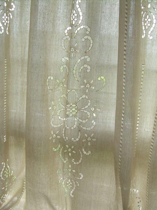 french lace curtain panels living room ideas