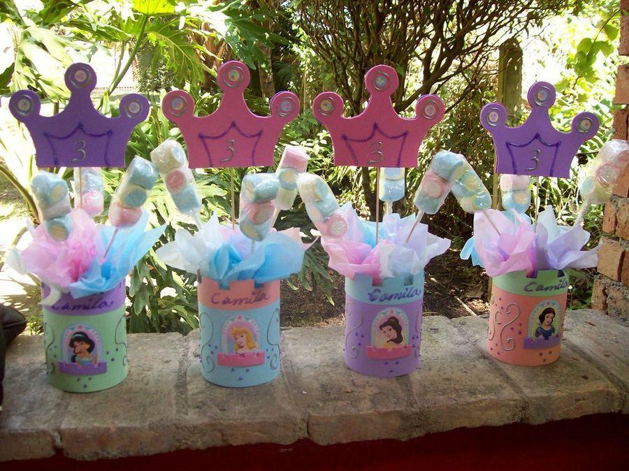 Los Mejores Centros De Mesa De Princesas Para Fiestas Infantiles Dulceros De Princesas Fiesta De Princesas Fiestas De Cumpleanos De Ninas