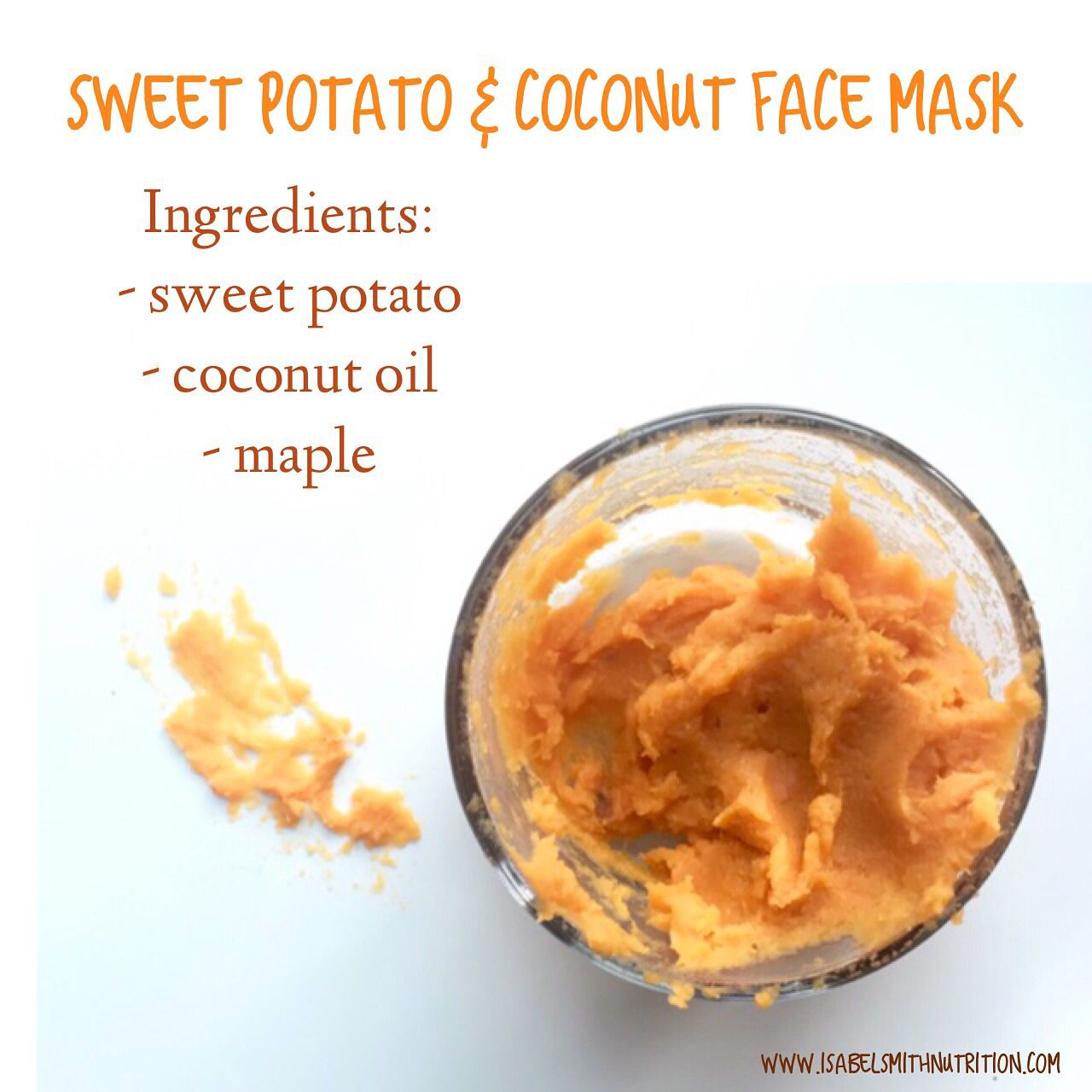 Gorgeous #natural #DIY #recipe for a face mask! Sweet ...