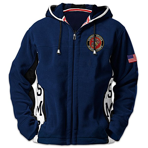 Hooded Corps Jacket United Fi States Fleece Semper Marine q5c3LARj4