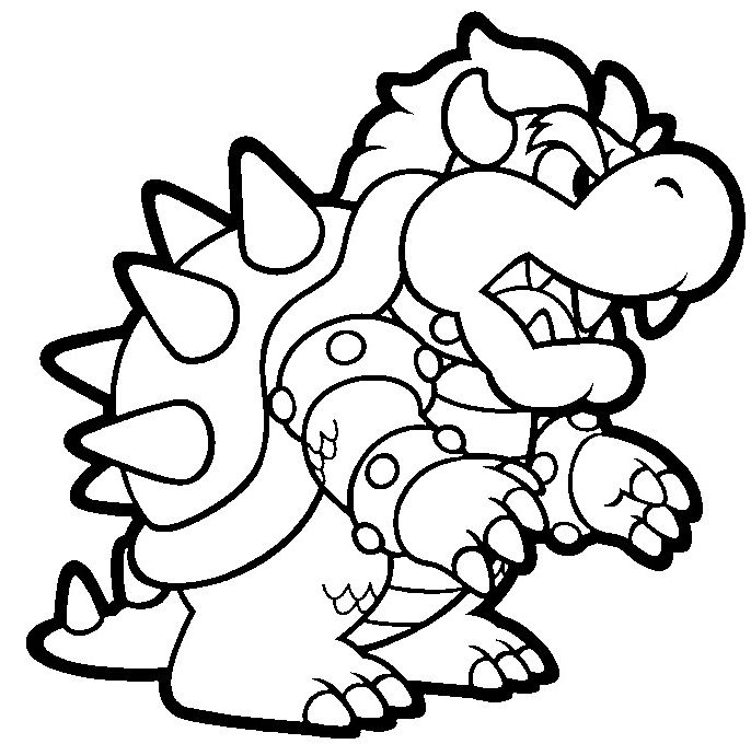 Coolest mario characters coloring pages - http://coloring ...