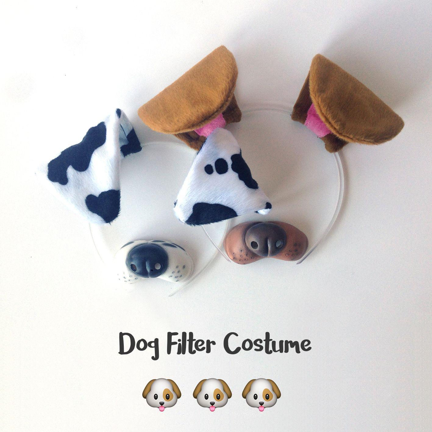 snapchat dog costume