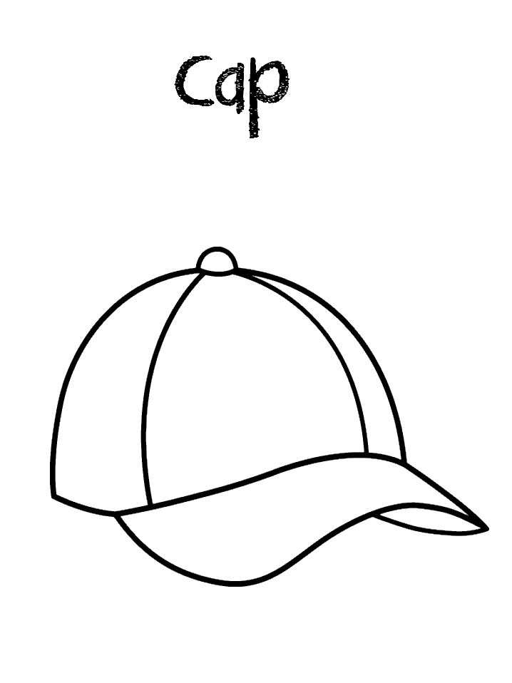 Hat Coloring Pages Best Coloring Pages For Kids Baseball Coloring Pages Coloring Pages Sports Coloring Pages