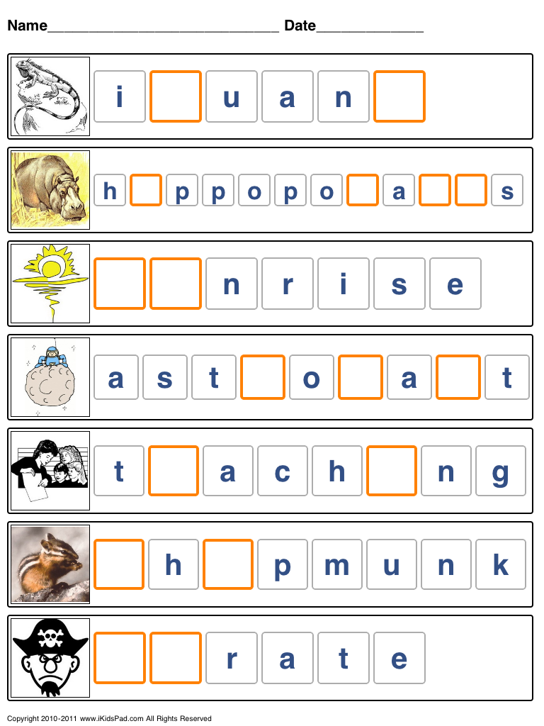 Printable Spelling Worksheets For Kids Spelling Worksheets Spelling For Kids Worksheets For Kids [ 1024 x 768 Pixel ]