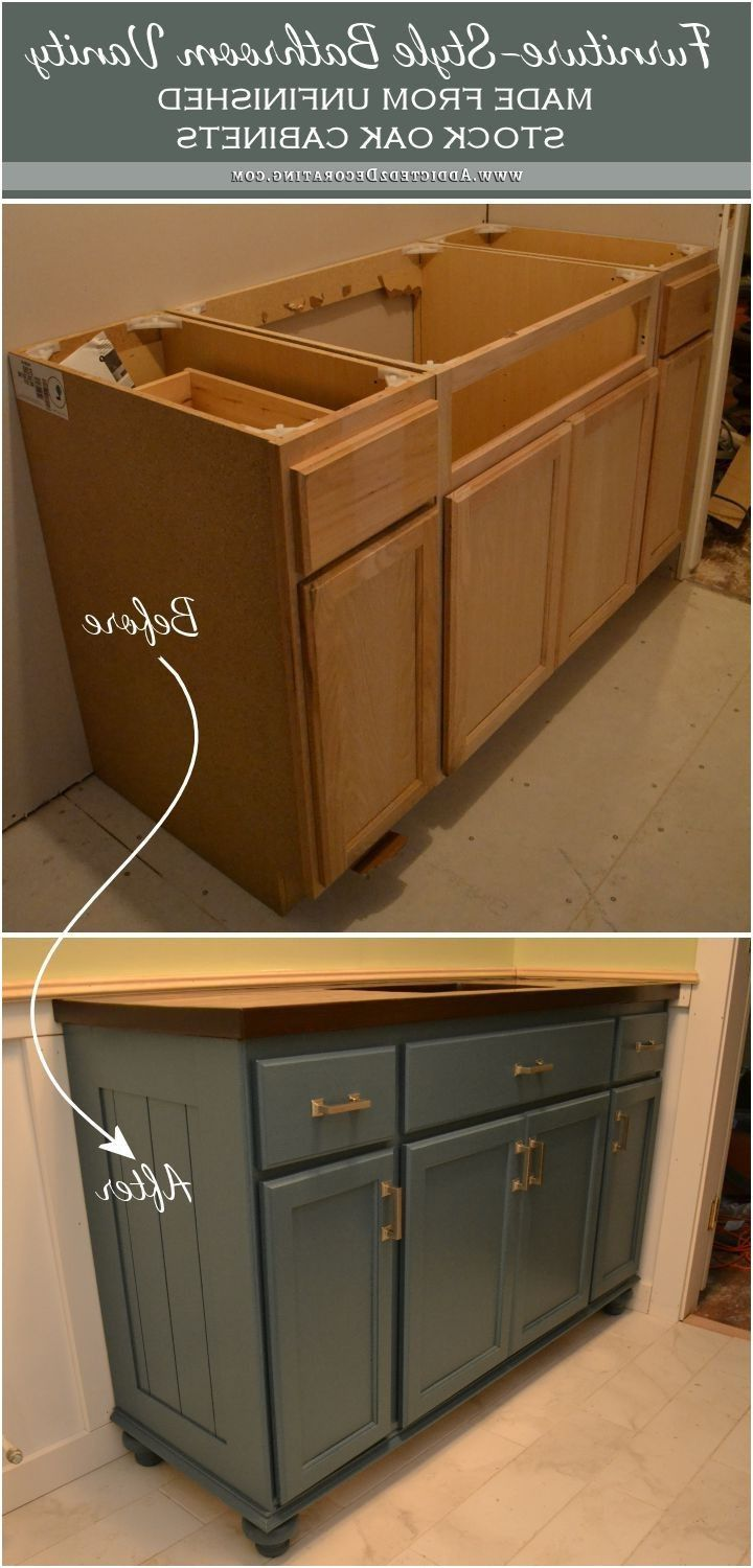 55 Make Bathroom Vanity From Kitchen Cabinets Kitchen Counter Top