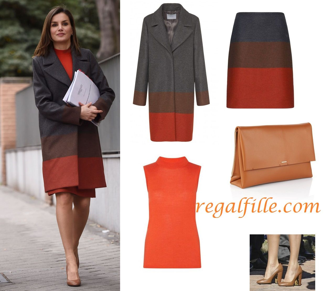 Queen Letizia recycled her Colourful Wardrobe for a Meeting in Madrid