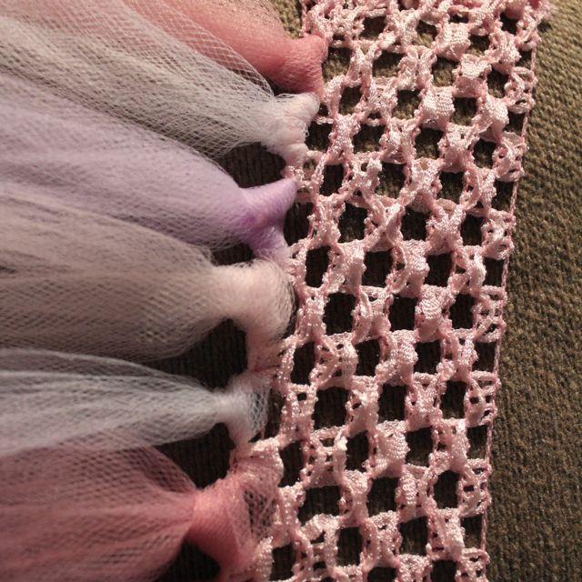 Rachael Rabbit  Tutu Tutorial (Part 2)  No Sew Tutu using Crochet Elastic  Ribbon  Erin B B B Spiering Now you don t need a sewing machine! bc3e35e334b