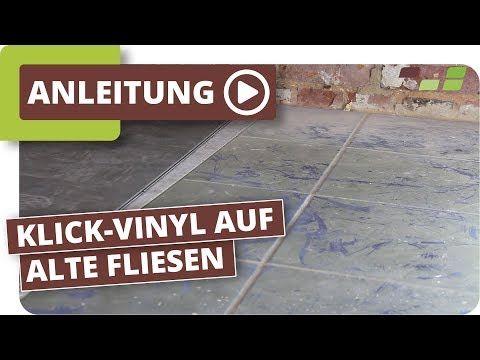 Vinylboden Auf Fliesen Verlegen Planeo Klick Vinyl Youtube Vinylboden Fliesen Verlegen Vinyl