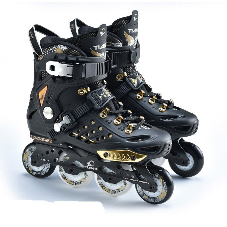 Click To Buy Children Adjustable Inline Speed Skating Shoes