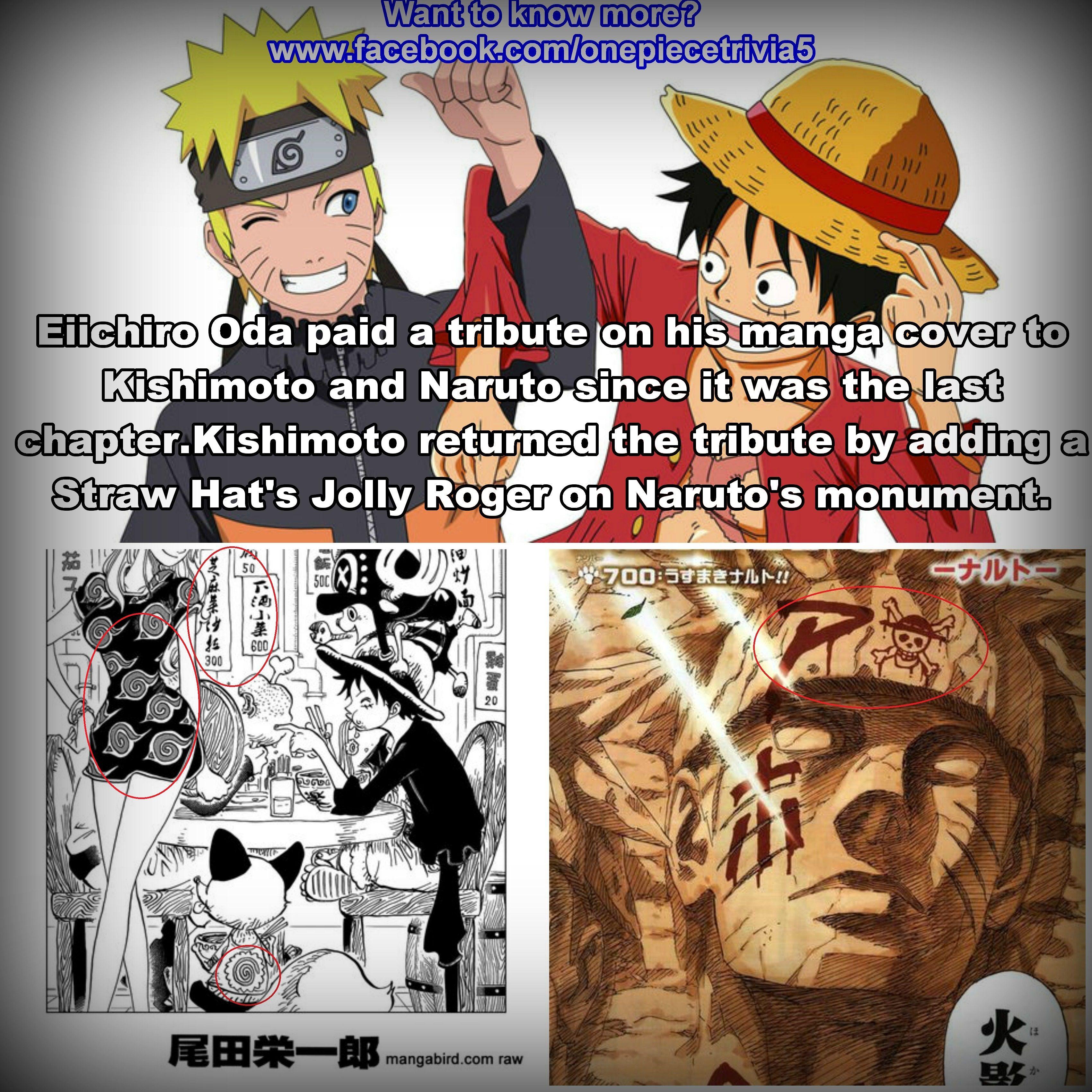 Good bye,Naruto ) One Piece Facts Pinterest Naruto