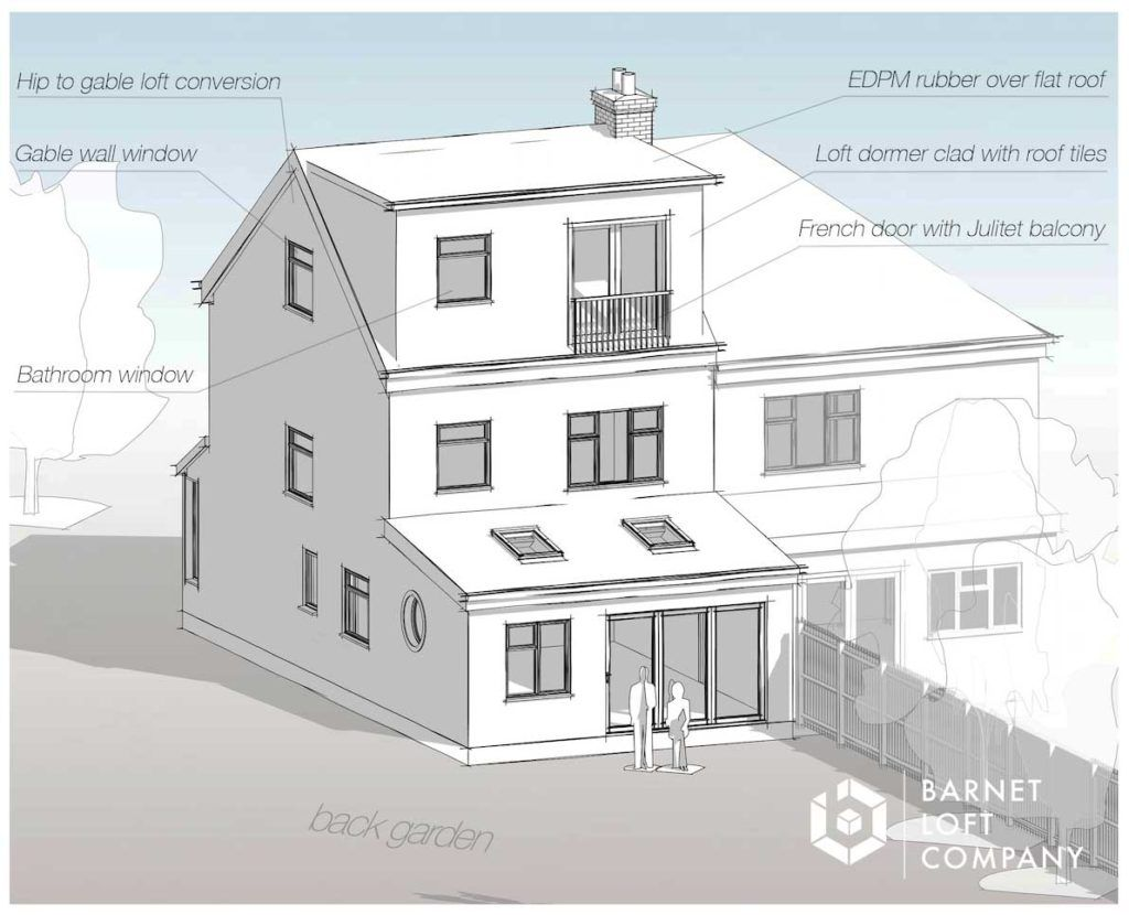 architect loft plans Loft conversion plans, Loft plan