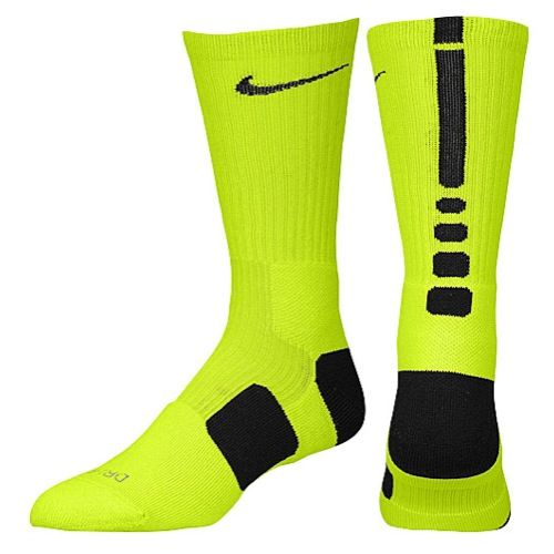 Nike Elite Basketball Crew Socks - Men's - Basketball - Accessories -  Diffused Black/Gold to support the Grambling State Tigers.