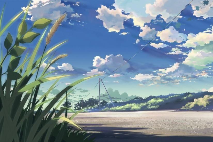 Scenery Anime Wallpaper Ipad