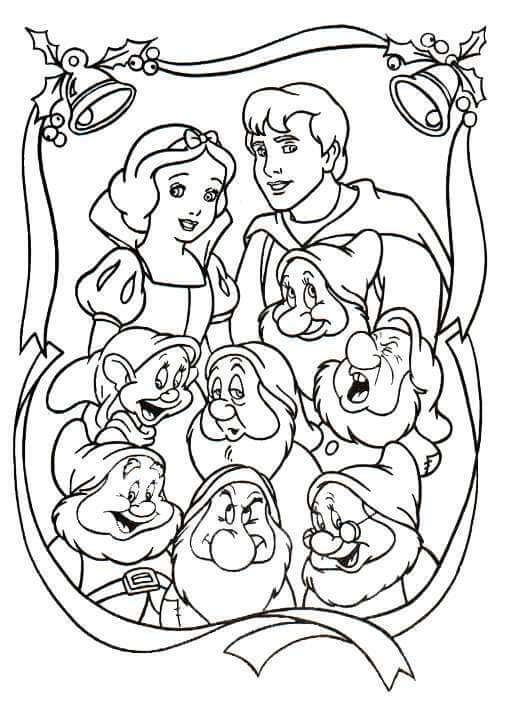 28 Free Printable Disney Christmas Coloring Pages World Of Makeup