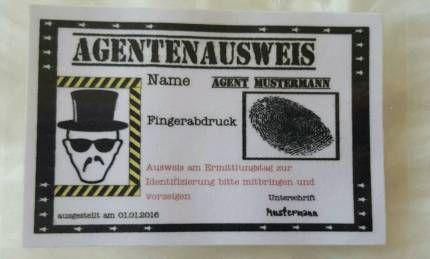 kindergeburtstag einladung detektiv spion party in saarland - bous, Einladung