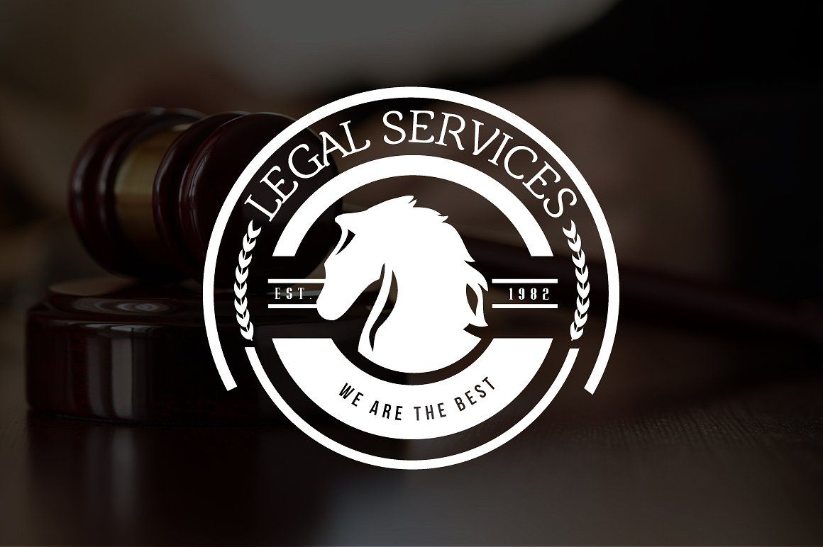 12 Logos Law Firm & Legal Services by DesignDistrict on @creativemarket