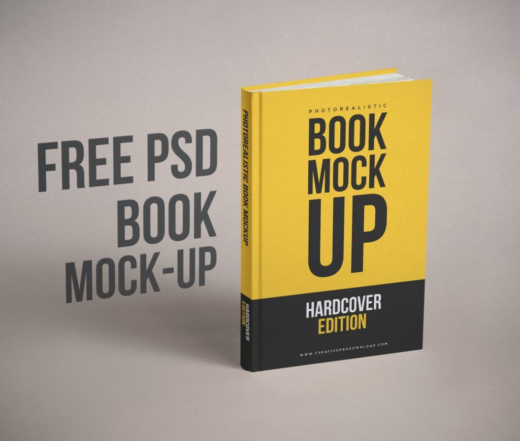 Blank Book Cover Design Template Free Download