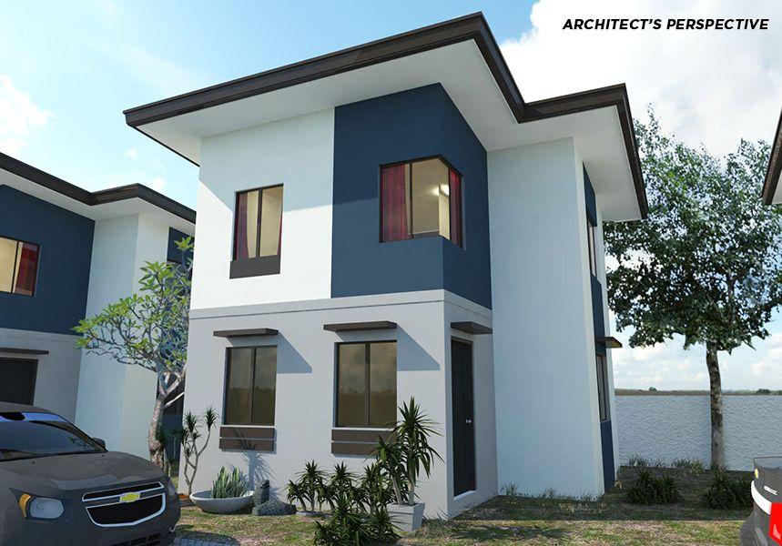 Kiara model unit single detached lot area sqm floor storey house designphilippine also gel chok angelangelgonza on pinterest rh