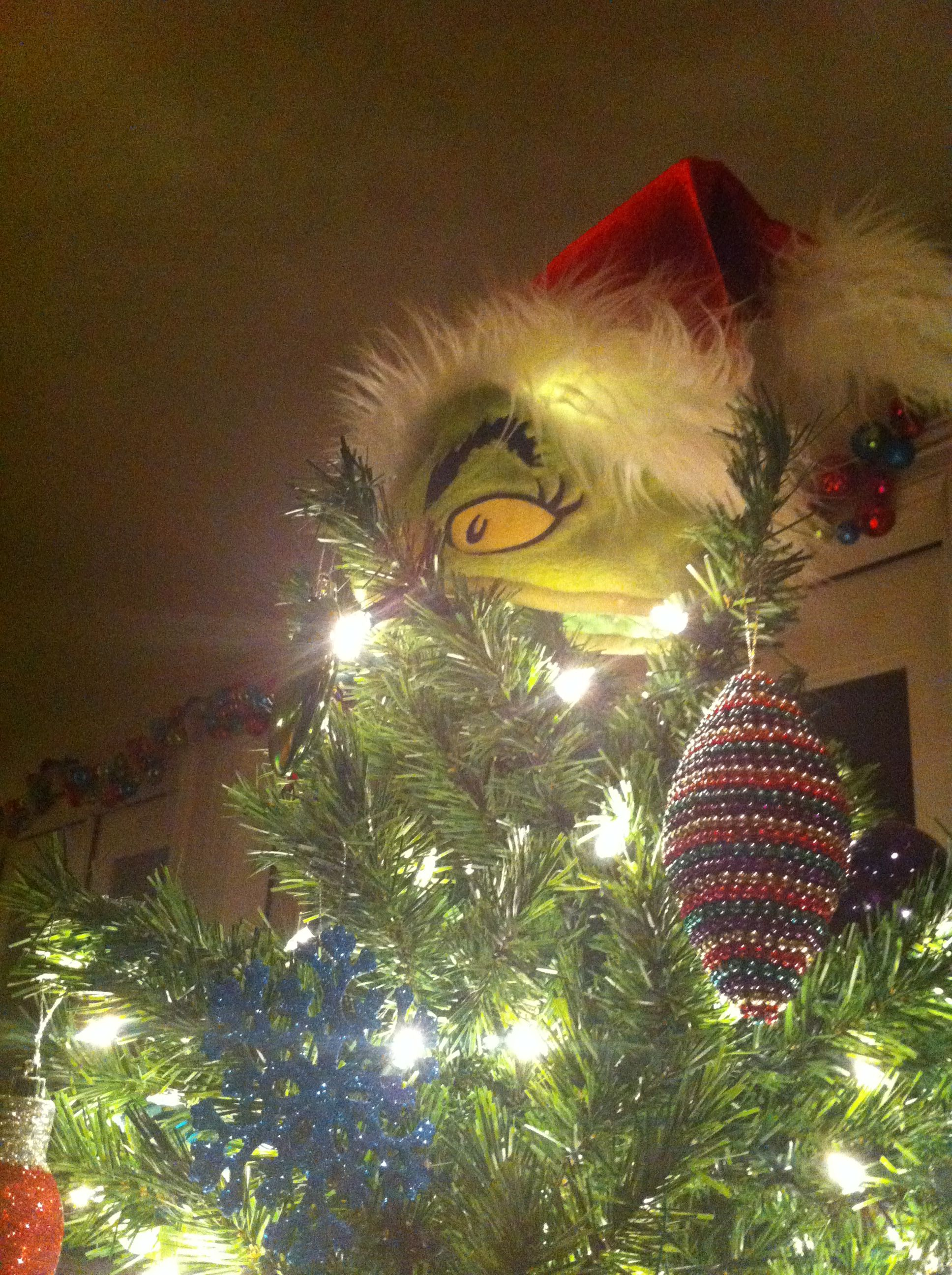 Grinch Tree Topper Grinch Christmas Bulbs Christmas Grinch Trees