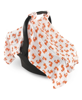 Hudson Baby Muslin Car Seat Canopy One Size Reviews All Baby