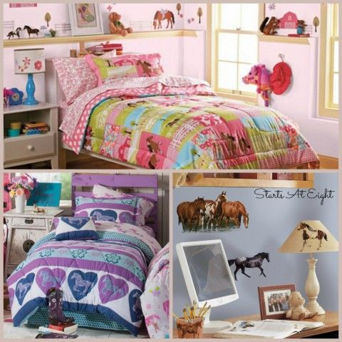 10+ Gifts for Horse Loving Girls | Horse bedroom decor and Bedrooms
