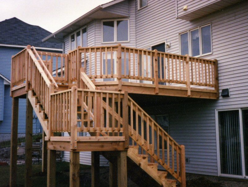 How To Build A Deck On The 2nd Story Of
