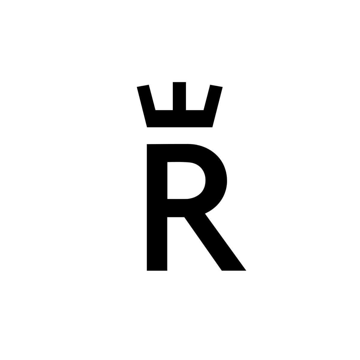 Rorstrand Logo Sweden Letter Logo Design Letter Logo Letter R