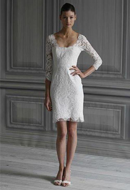 vestidos de novia sencillos cortos para descargar | fashion | mini