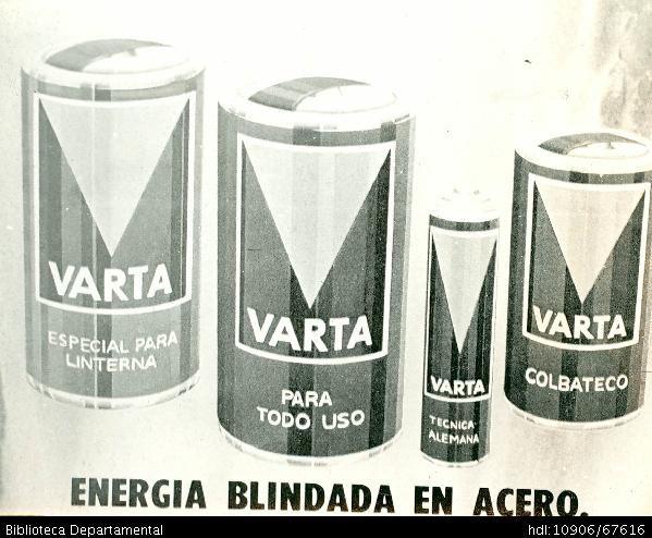 Baterías Varta - Biblioteca Digital - Universidad icesi