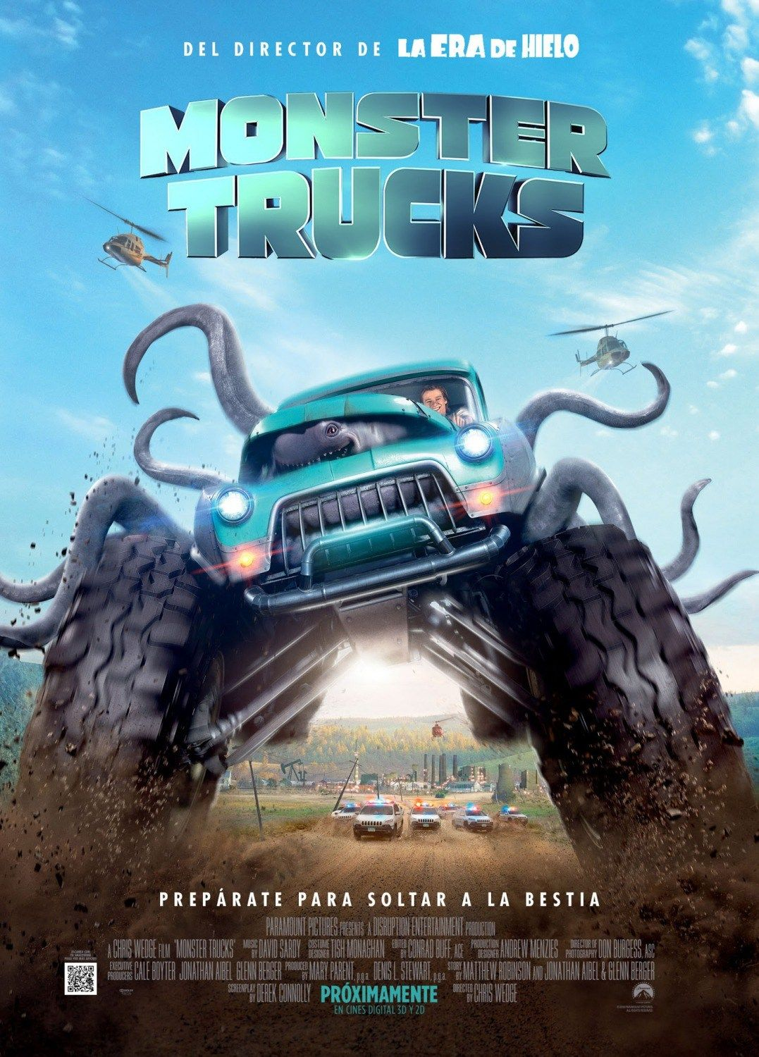 Putlocker - Monster Trucks (2017) \