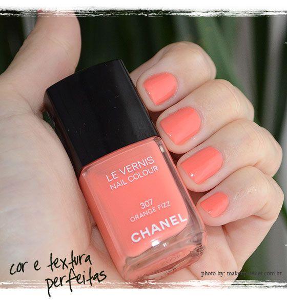Unhas | O coral da Chanel - MakeUp Atelier por Cinthia Ferreira
