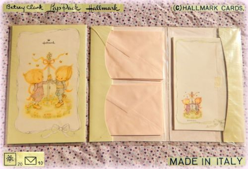 Betsey Clark Vintage Stationery Notepaper Letter Set Carta Da Lettere Dance New Vintage Ricordi Lettera