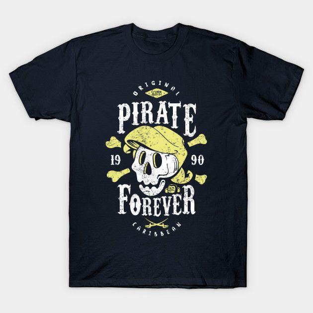 Pirate Forever - Guybrush Threepwood T-Shirt - The Shirt List