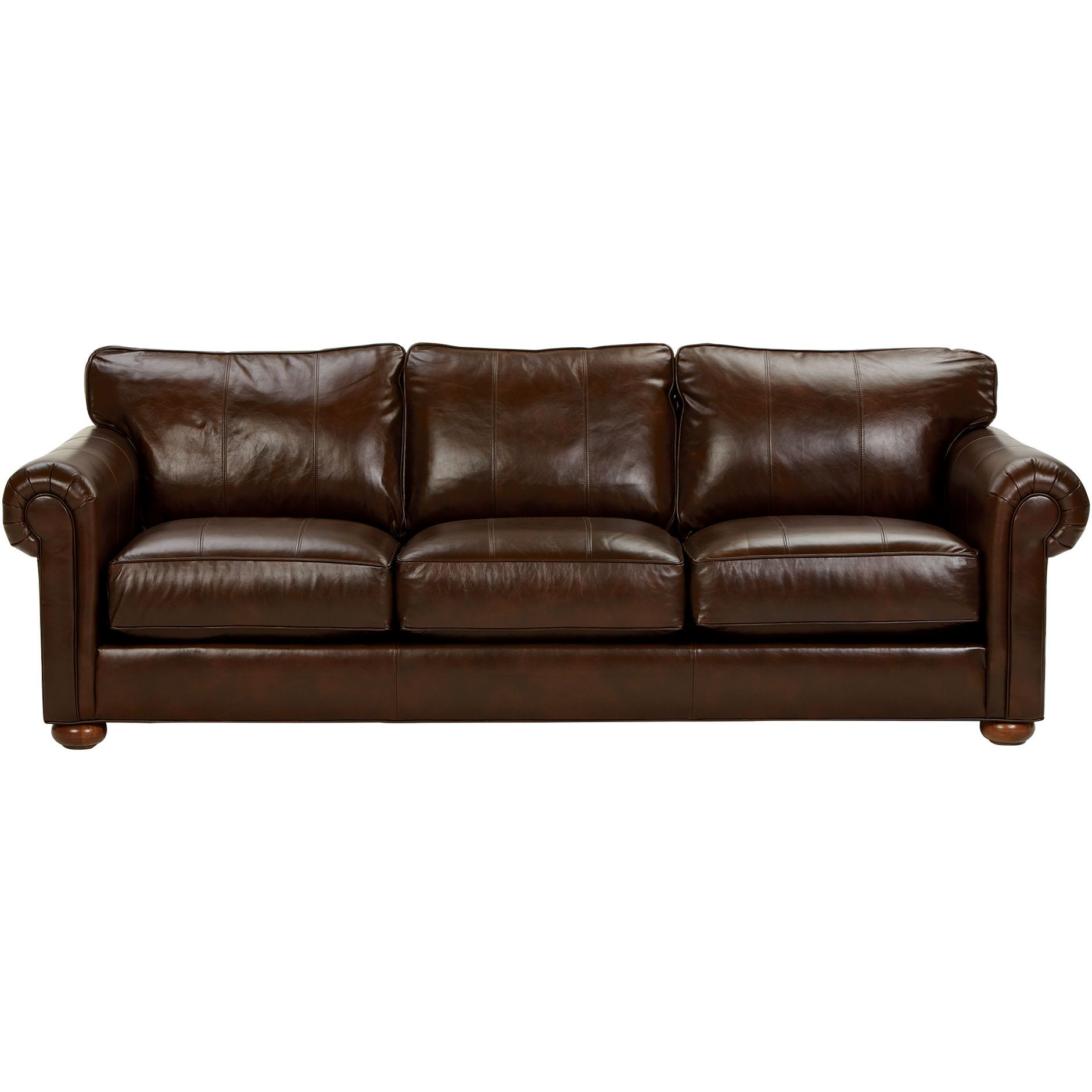 Richmond Leather Sofa Old English Chocolate Ethan Allen Us Leather Sofa Small Leather Sofa Coastal Living Rooms