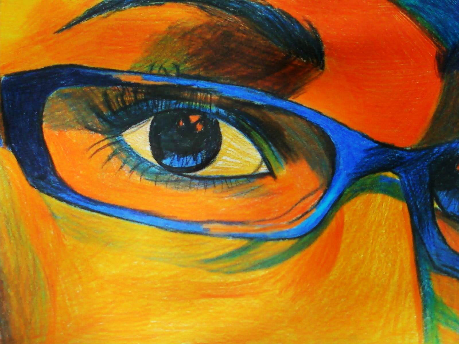 Orange from my pov v artwork in orange images for Artist canvas paint color