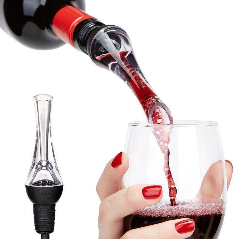 Mini Travel Red Wine Pourer Decanter Red Wine Bottle New Portable Wine Aerator Pourer Wine Accessories Wine Aerators Wine Dispenser Premium Wine