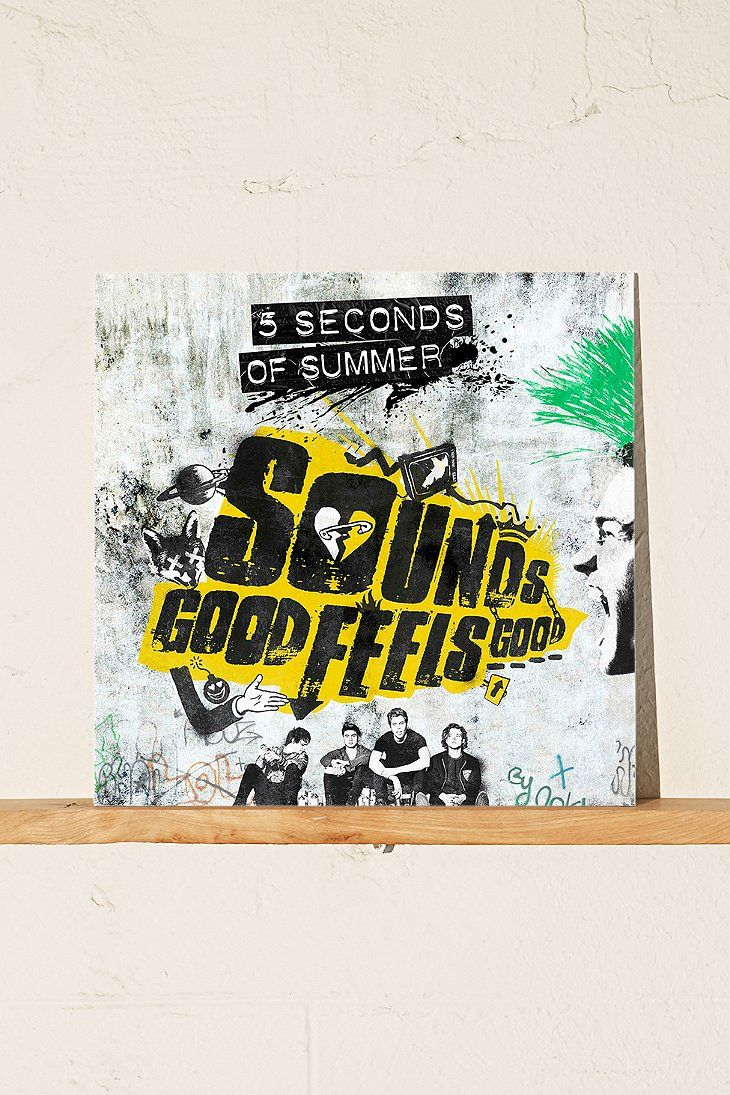 5 Seconds Of Summer Sounds Good Feels Good Lp 5 Seconds Of