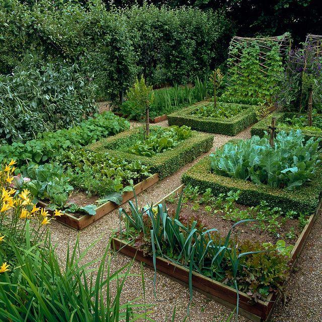 Potager Garden Design Ideas: Medieval-style Potager