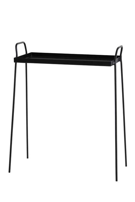 Hollyu0027s House   Black Side Table For Entrance Hall