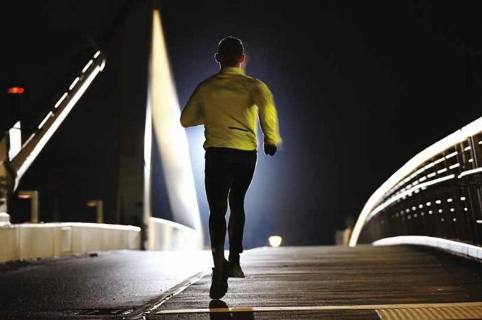 Running al buio