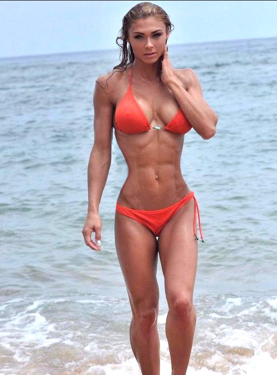 Bikini girls muscle
