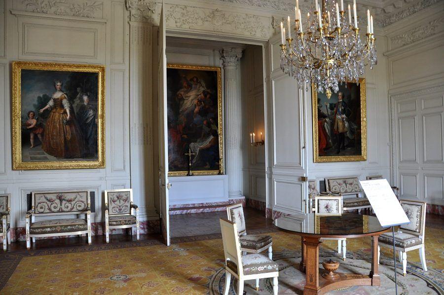 Salon de la chapelle   Trianon, Le grand trianon, Versailles